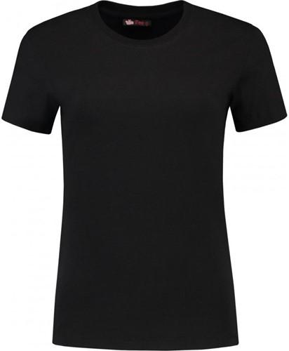 SALE! Lemon & Soda 1112 Dames T-Shirt - Zwart - Maat XL