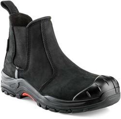 Buckler Boots Nubuckz Instapper Veiligheidsschoen S3 - Zwart