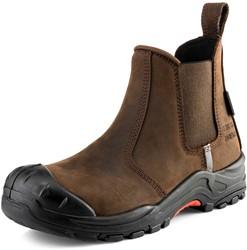 Buckler Boots Nubuckz Instapper Veiligheidsschoen S3 - Bruin