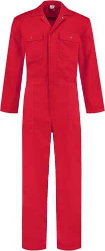 WW4A Overall Polyester/Katoen - Rood
