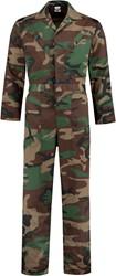 WW4A Camouflage Overall Polyester/Katoen - Bruin/Groen/Zwart