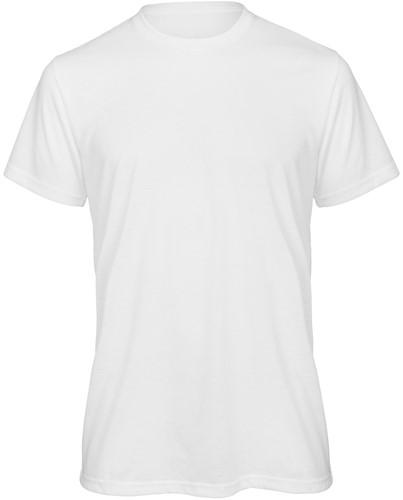 B&C TM062 Sublimation Heren T-shirt - wit
