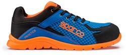 Sparco Practice 07517.AZAF Veiligheidsschoen S1P - Blauw/Oranje