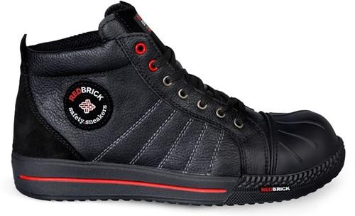 Redbrick Onyx Toe cap S3 - Zwart