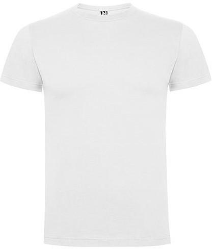 SALE! Roly RY6502 Dogo Premium T-Shirt Men - White - Maat L