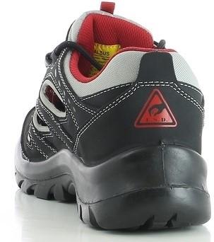 OUTLET! Safety Jogger Alsus S1P ESD Metaalvrij - Zwart - Maat 44-3