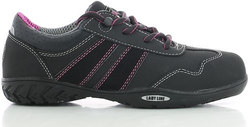 OUTLET! Safety Jogger Ceres S3 Metaalvrij - Zwart/Roze - Maat 41