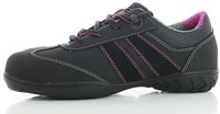 OUTLET! Safety Jogger Ceres S3 Metaalvrij - Zwart/Roze - Maat 41-2