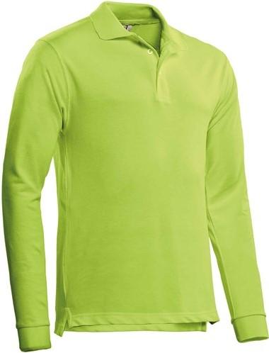 SALE! Santino Poloshirt Matt - Lime - Maat L