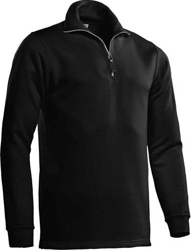 OUTLET! Santino Zipsweater Alex - Zwart - Maat M