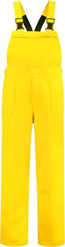 WW4A Tuinbroek Polyester/Katoen - Geel