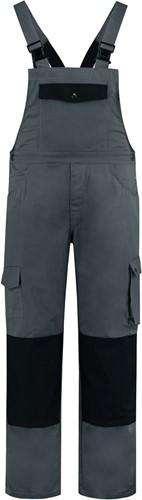 WW4A Tuinbroek Katoen/Polyester - Grijs/Zwart