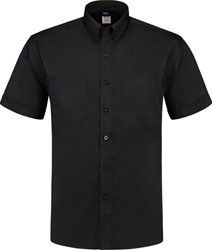 OUTLET! Tricorp OHK150 Werkhemd Korte Mouw - Zwart - Maat L