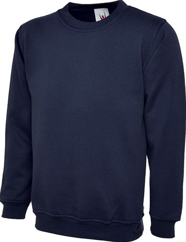 SALE! Uneek UC201 Premium Sweatshirt - Navy - Maat M